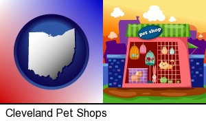 a pet shop in Cleveland, OH