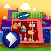 washington-dc a pet shop