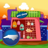 north-carolina a pet shop