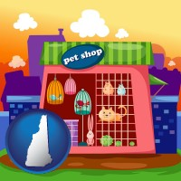 new-hampshire a pet shop