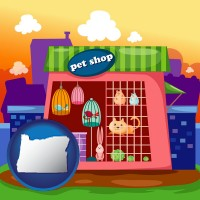 oregon a pet shop