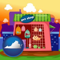 virginia a pet shop